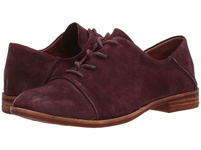 1920s Style Shoes Kork-Ease Tillery Burgundy Suede Womens Shoes $149.95 AT vintagedancer.com