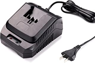 Replacement Charger for Tacklife 20V Max Lithium-ion Battery with LED, PPK03B(Battery PPK02B Sold Separately)