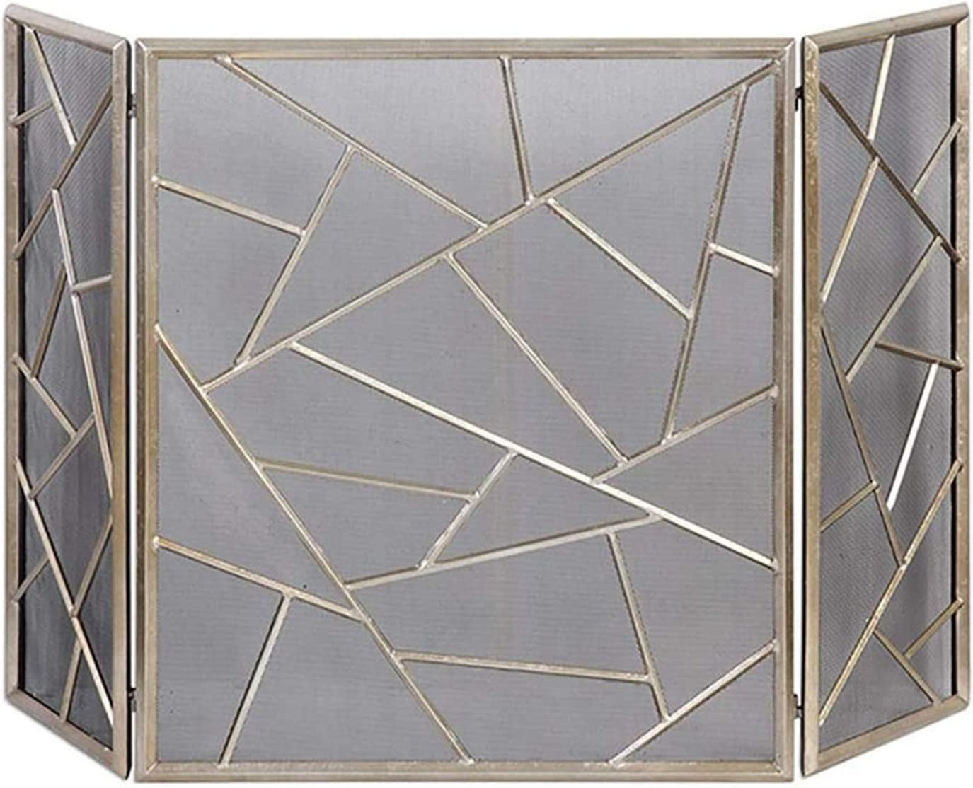 FUFU Mesh Fireplace 5% OFF Screen 3 Protecto Fire Foldable Panel Baltimore Mall