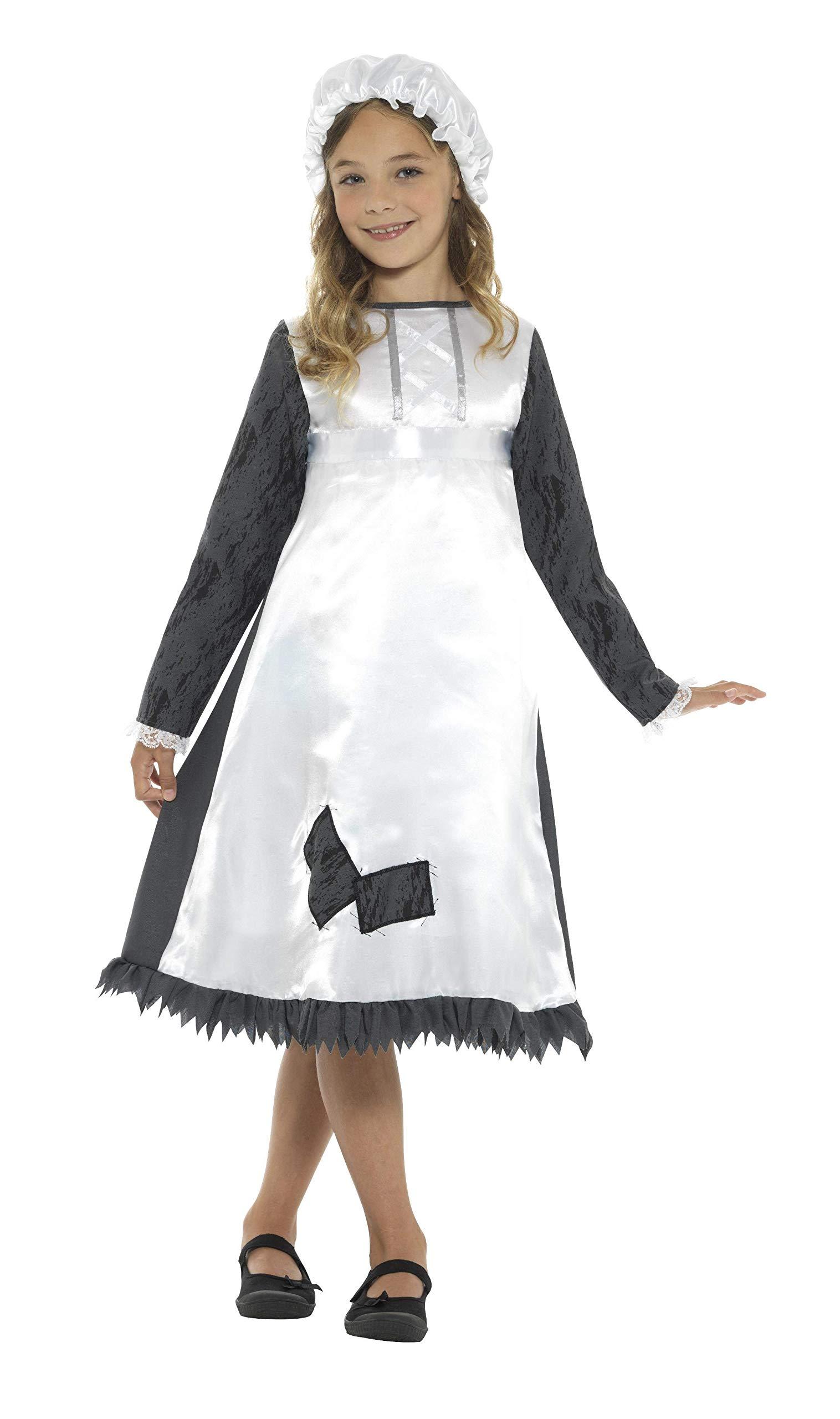 Smiffys-42997S Disfraz de sirvienta época Victoriana, con Vestido ...