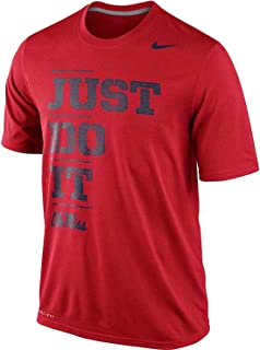 NIKE Ole Miss Rebels Mississippi Just Do It Dri-FIT Legend Men's T-Shirt