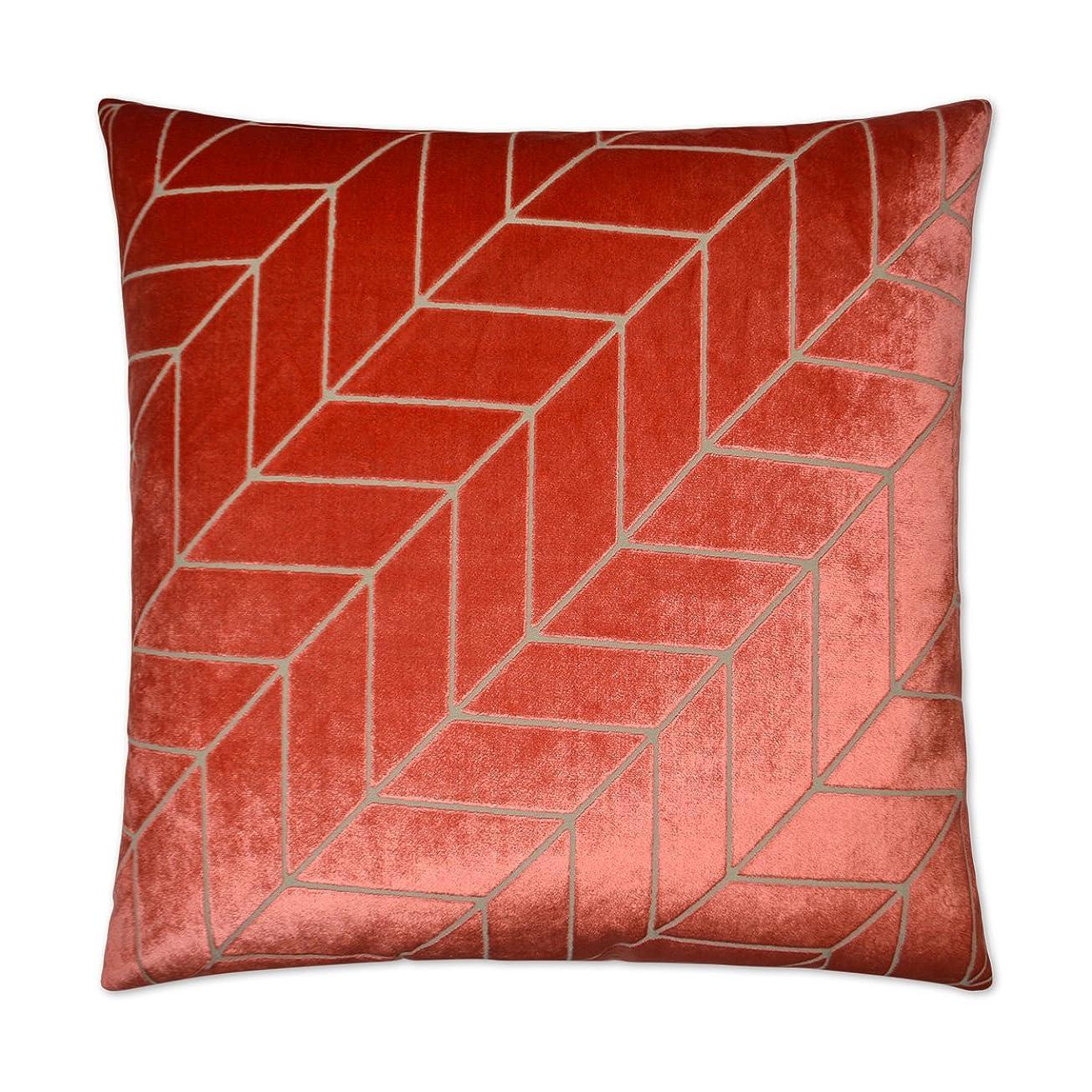 打たれたトラック嵐のカニCanaan会社装飾枕van Ness Studio 2599-c villa-coral