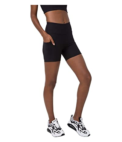 YEAR OF OURS Tennis Shorts (Black) Women