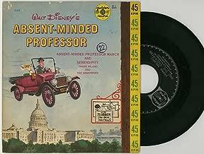 Walt Disney's Abent-Minded Professor - 45 rpm Golden Record #648