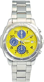 Best seiko yellow face chronograph Reviews