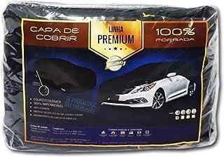 Capa Couro cobrir de Carro Impermeável Forrada Tam G (310)