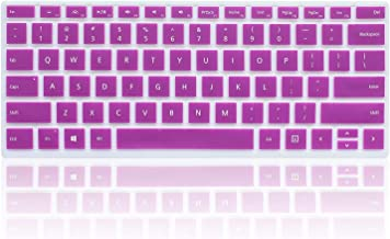 ProElife Ultra Thin Silicone Keyboard Cover Skin for Microsoft Surface Pro 4 12.3 Inch Surface Pro 4 Type Cover Keyboard (Purple), Waterproof Washable Silicone Keyboard Protector Cover