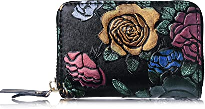 RBEIK Credit Card Holder for Women PU Leather Wallet Purse Card Case for Ladies