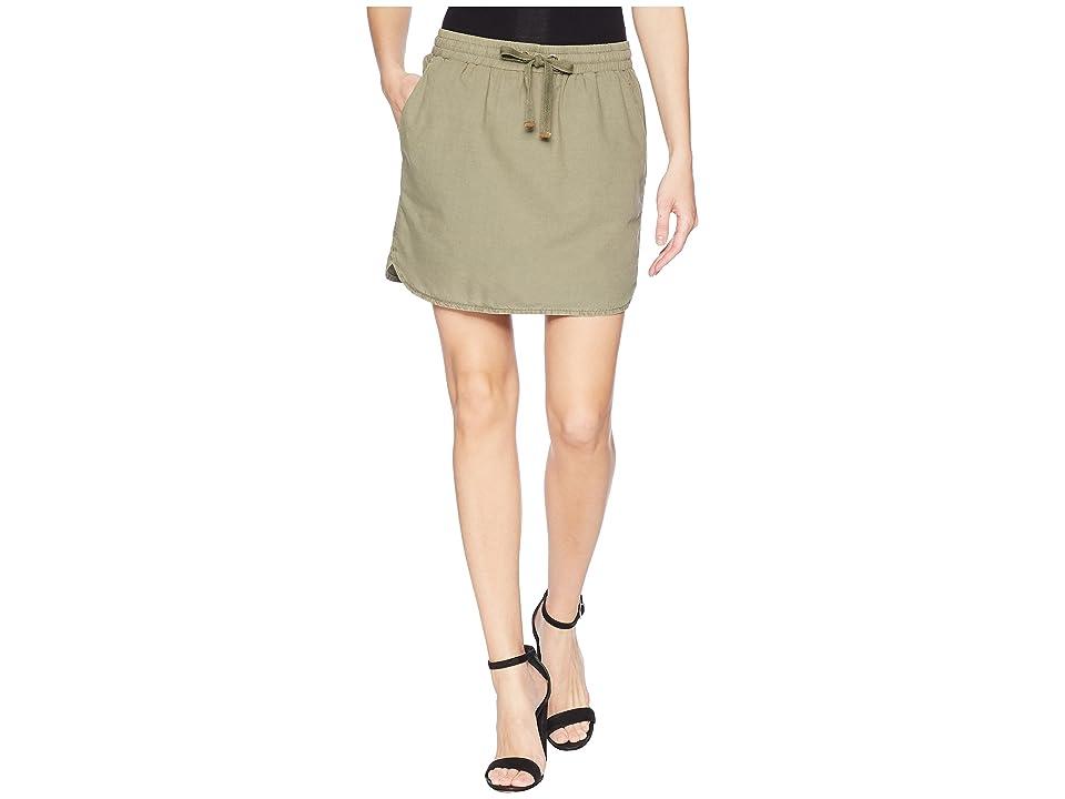Lilla P Skirt (Soft Olive) Women
