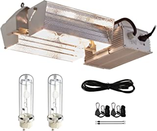 TopoGrow 630W CMH CDM Grow Light Kit W/3100K Bulb& 120V-240V Ballast 120V Plug Full Light Spectrum CMH Bulb Replace LED Digital Ballast for Plant Growing (630W Open Adjust Kit /3100K)