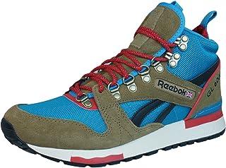 huge discount 38118 63a45 Reebok GL 6000 Mid Thatch Blue Red Sneaker