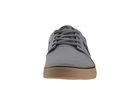 Discounts Nike SB Portmore II Solar Canvas Dark Grey/Black/Gum Light Brown For Sale Footlocker YsOWPPVMg7