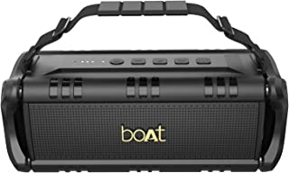 boAt Stone 1400 Wireless Bluetooth Speaker with IPX 5 Water Resistance, EQ Modes and HD Sound (Active Black)