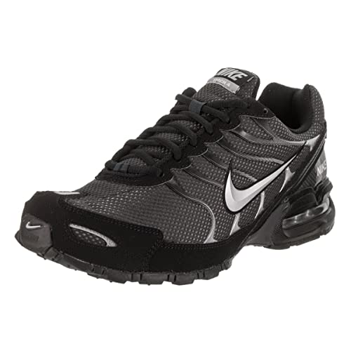 online store da31e 48534 Nike Mens Air Max Torch 4 Running Shoe AnthraciteMetallic SilverBlack  Size 11