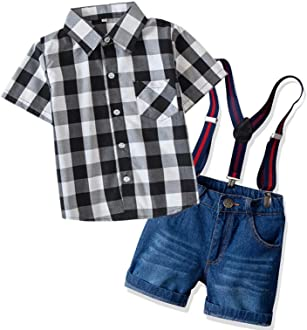 DAIMIDY Little Boys Roll Cuff Ripped Jeans 1-11 Years