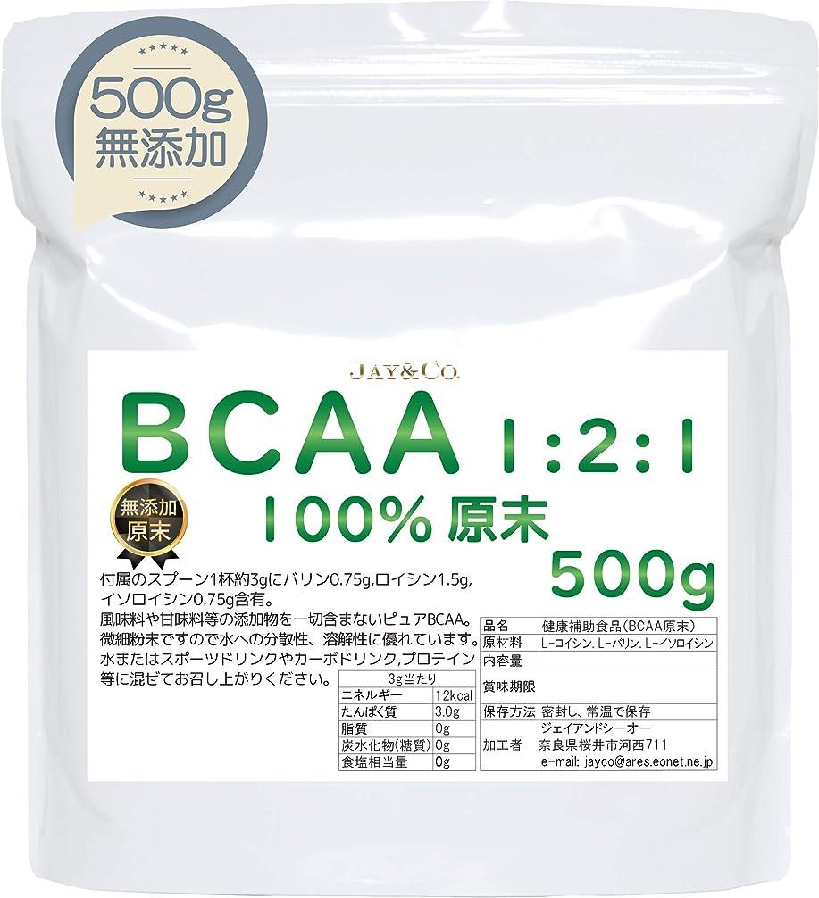 急いでうぬぼれた転倒溶けやすい BCAA 100% 原末 無添加 パウダー (500g)