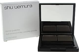 Shu Uemura Brow Palette for Women Eyebrow Powder, Seal Brown/Stone Gray, 2 Count