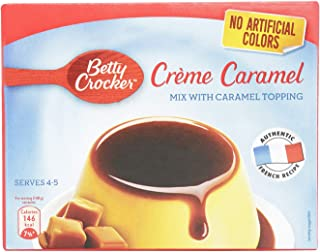 Betty Crocker Creme Caramel Mix With Topping, 69 gm
