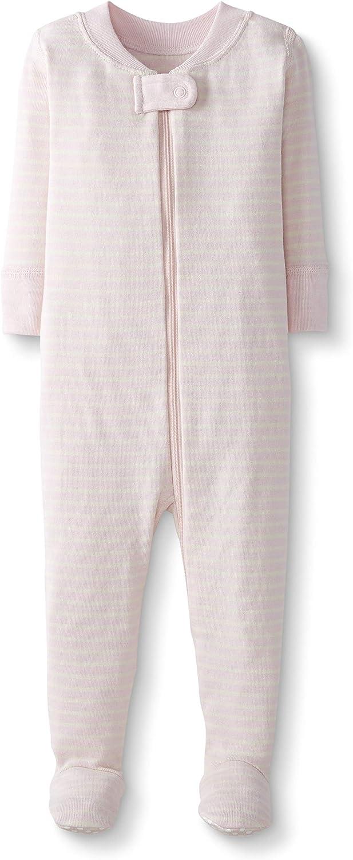 mit F/ü/ßen Moon and Back by Hanna Andersson Einteiliger Schlafanzug f/ür Babys und Kleinkinder aus Bio-Baumwolle