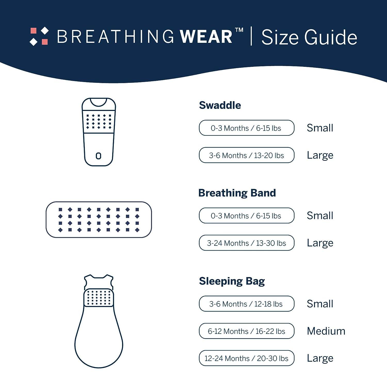 Nanit Breathing Wear Sleeping Bag 1pk, Size Small 3-6 Months - Powder Blue