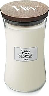 WoodWick White Tea and Jasmine Candle, Large 22 ounces