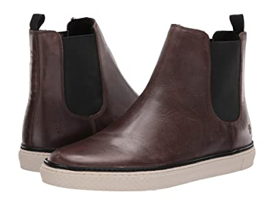Frye Essex Chelsea (Charcoal WP Smooth Pull-Up/Shearling) Men