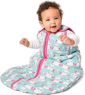 baby deedee Sleep Nest Tee Baby Sleeping Bag, Bashful Owls, Small (0-6 Months)