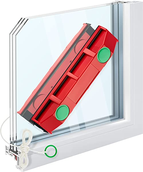 Tyroler Bright Tools The Glider D 3 Magnetic Window Cleaner For Double Glazed Windows Fit To 0 8 1 1 Window Thickness