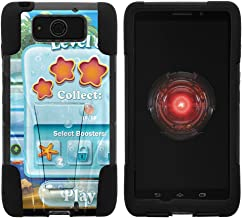 TurtleArmor | Compatible with Motorola Droid Maxx Case | Droid Ultra Case | XT1080 [Gel Max] Hybrid Hard Shell Impact Silicone Cover Layer Kickstand Video Games - Mobile Game