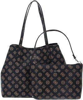 Guess Borsa shopping Vikky tote con pochette brown donna B22GU121 PQ699523