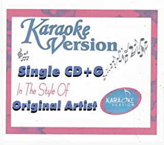 Karaoke Version Single CD+G James Durbin Will You Still Love Me Tomorrow American Idol