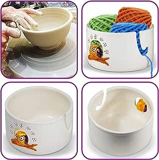polish pottery yarn bowl