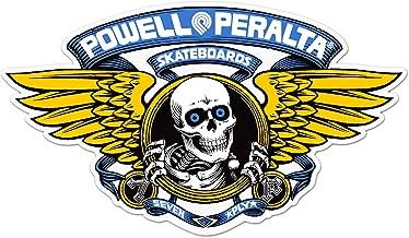 Powell Peralta Skateboard Winged Ripper Ramp Sticker Blue (Extra Large 12
