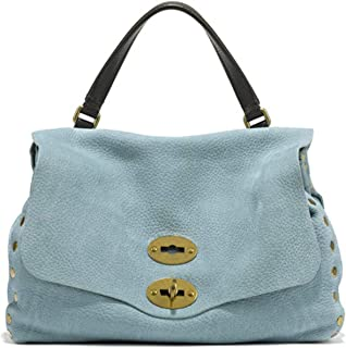 Luxury Fashion   Zanellato Womens 61384372 Light Blue Handbag   Spring Summer 20