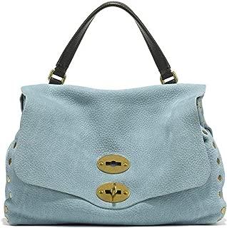 Luxury Fashion | Zanellato Womens 61384372 Light Blue Handbag | Spring Summer 20
