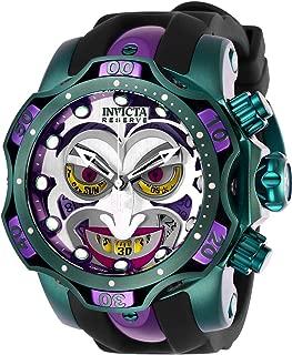 Invicta 26790 Men's DC Comics Reserve Chrono Black Strap Watch