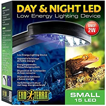 Exo Terra PT2335 Day/Night LED Fixture, Small