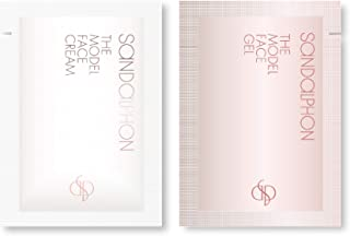 SANDALPHON(サンダルフォン) 【お試しサンプル】ザ・モデルフェイスジェル&ザ・モデルフェイスクリーム 2g