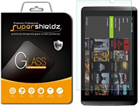 Supershieldz for Nvidia Shield Tablet and Nvidia Shield Tablet K1 Tempered Glass Screen Protector, Anti Scratch, Bubble Free