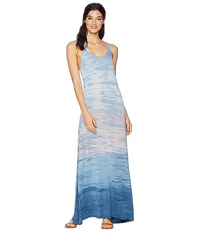 Hard Tail Midi Tank Dress (Rainbow Horizon 76) Women