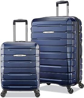Samsonite Tech-3 Lot de 2 valises rigides Bleu foncé