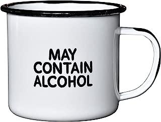 funny enamel mug