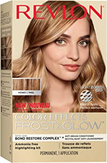 Revlon Colorsilk Color Effects Frost and Glow Hair Highlights, At-Home Hair Dye Kit for Natural, Color-Treated & Permed Ha...