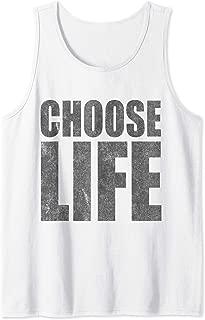 Vintage Choose Life Pro-Life Tank Top
