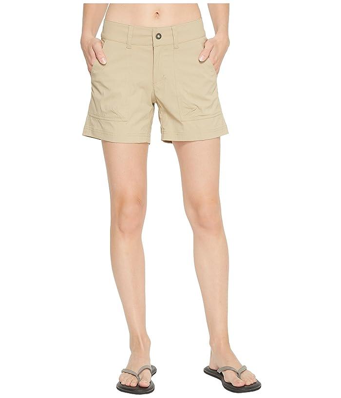 Columbia Silver Ridge Stretch Shorts II (British Tan) Women