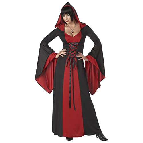 1f7d9f3caba California Costumes Deluxe Hooded Robe Adult Costume