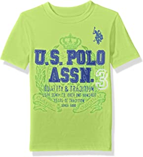 Boys' Crew Neck Iconic Graphic Logo T-Shirt