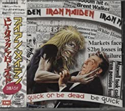 Iron Maiden - Be Quick Or Be Dead - Maxi CD 3 titres - import japonais Japan