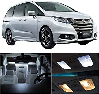 SCITOO 13 Pcs White Interior LED Light Package Kit Replacement Bulbs Fits for Honda Odyssey 1999-2004