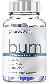 Dietspotlight Burn Weight Control Formula Plus - Increase Your Metabolism, Decrease Your Appetite, Safe & Effective Fat Burner
